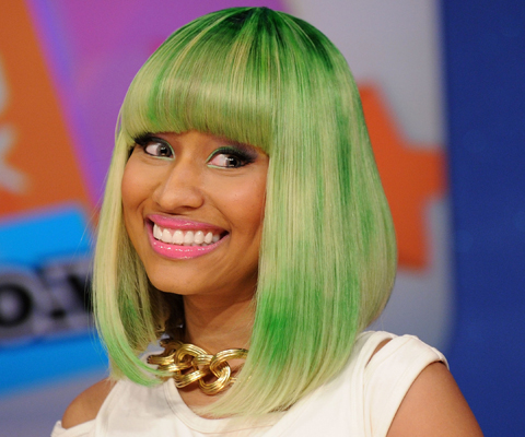 nicki minaj before fame pics. But Minaj#39;s dream of fame